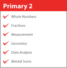 Primary 2 Math Syllabus