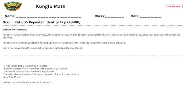 math worksheet : math grade 5 ratio worksheets and resources  singapore math : Math Ratio Worksheets
